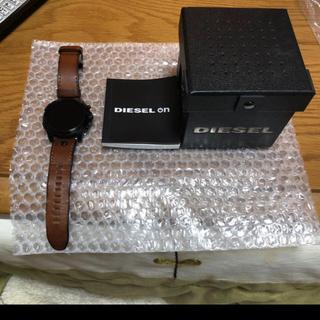 ディーゼル(DIESEL)の【ノッポ様専用】DIESEL スマートウォッチ(腕時計(デジタル))