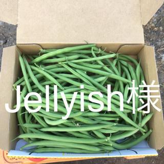 鹿児島産甘サヤインゲン箱込み500g^_^(野菜)