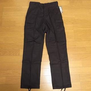 ロスコ(ROTHCO)のロスコ 6ポケット BDU PANT RIP-STOP ブラック 黒 XS(ワークパンツ/カーゴパンツ)