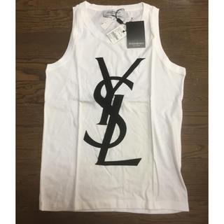 イヴサンローランボーテ(Yves Saint Laurent Beaute)の新品・イヴ・サンローラン・ノースリーブTシャツ・サイズS(Tシャツ(半袖/袖なし))