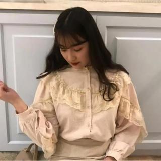 ハニーミーハニー(Honey mi Honey)のFrill blouse(シャツ/ブラウス(長袖/七分))