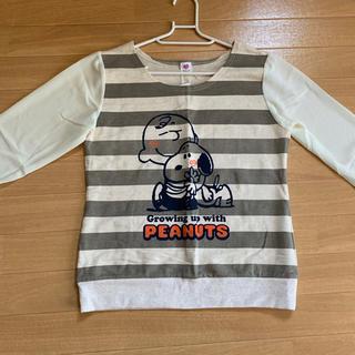 スヌーピー(SNOOPY)のスヌーピー 長袖シャツ(Tシャツ(長袖/七分))