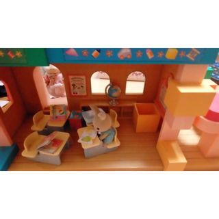 シルバージーンズ(Silver JEANS)のシルバニア森の幼稚園レア品(知育玩具)