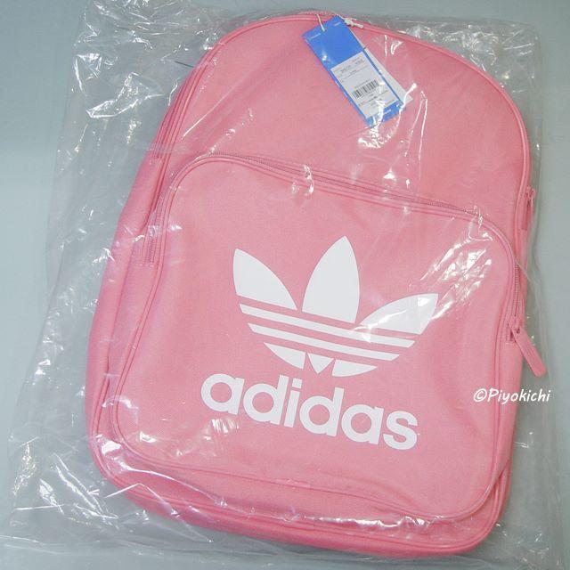 adidas(アディダス)の桃【新品/即納OK】adidas オリジナルス リュック バックパック ピンク レディースのバッグ(リュック/バックパック)の商品写真