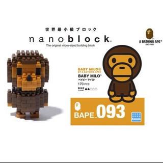 アベイシングエイプ(A BATHING APE)のbape nanoblock(キャラクターグッズ)