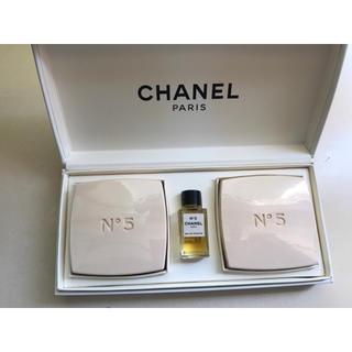 シャネル(CHANEL)のシャネル 石鹸セット(香水(女性用))