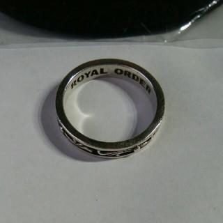 ロイヤルオーダー(ROYALORDER)の【ROYAL ORDER】シルバーリング(リング(指輪))