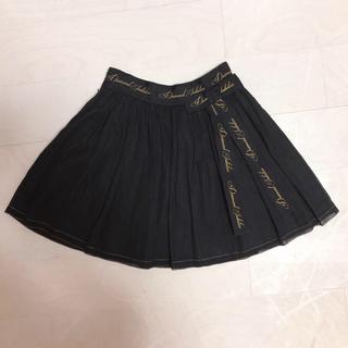 ジェーンマープル(JaneMarple)のJane Marple コットン スカート ブラック(ミニスカート)
