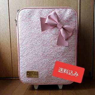 992662a716 リズリサ(LIZ LISA)のLIZ LISA キャリーバッグ♥ レース(スーツケース