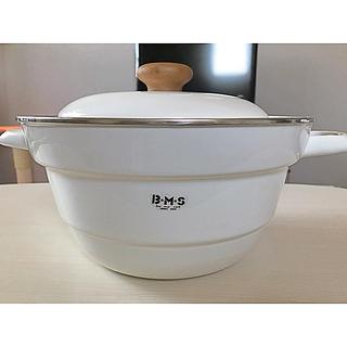 フジホーロー(富士ホーロー)の富士ホーロー 多機能鍋27cm(すのこ付き)(鍋/フライパン)