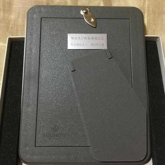 MIKIMOTO(ミキモト)のミキモト フォトフレーム  インテリア/住まい/日用品のインテリア小物(フォトフレーム)の商品写真