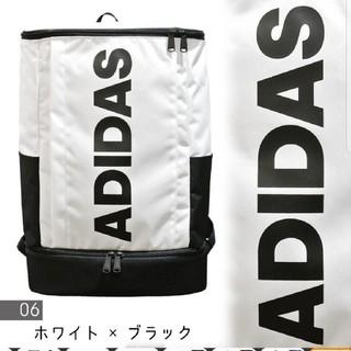アディダス(adidas)のadidas 新商品 珍しいロゴのリュックになります。(バッグパック/リュック)