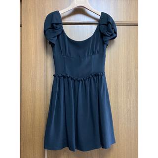 ミュウミュウ(miumiu)のmiumiu ミュウミュウ ドレス 美品 直営店購入 36(ミニワンピース)