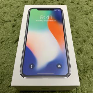 アイフォーン(iPhone)の【e35.3.※プロフ様】iPhone x 64G シルバー docomo(スマートフォン本体)