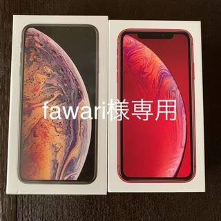 アップル(Apple)のiPhone xs max64ギガ  iPhone xr64ギガ  (スマートフォン本体)
