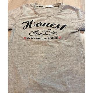 シマムラ(しまむら)のシンプルトップス140(Tシャツ/カットソー)