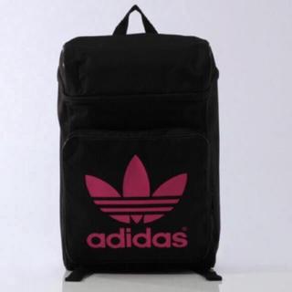 アディダス(adidas)の希少 adidas originals BP CLASSIC 黒×ピンク(リュック/バックパック)