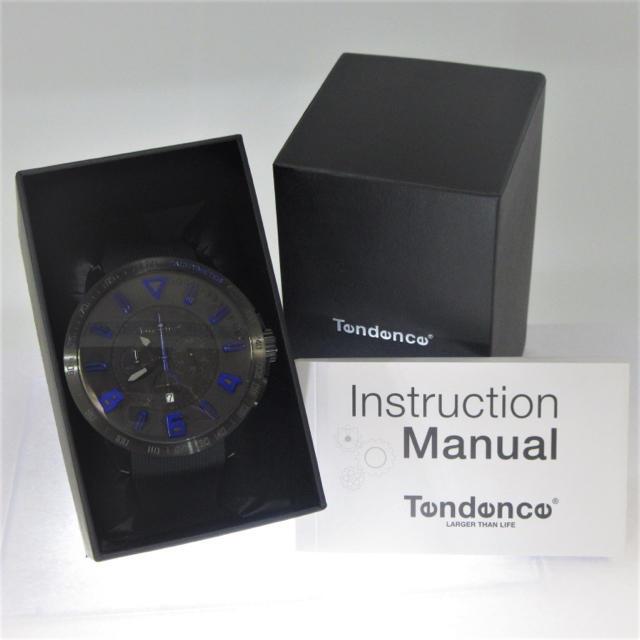 Tendence(テンデンス)のテンデンス TT560004 スポーツガリバークロノ 腕時計 ブルー&ブラック メンズの時計(腕時計(アナログ))の商品写真