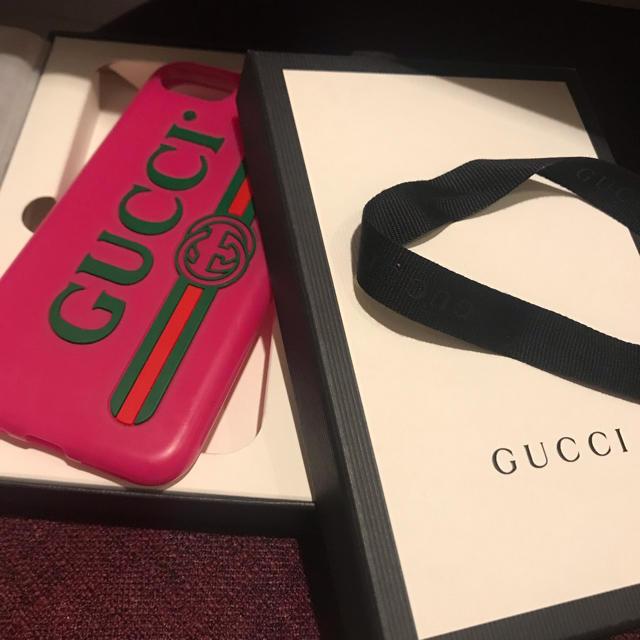 ヴィトン iphone7 ケース 三つ折 - Gucci - 【キラ様専用】GUCCI iPhonecaseの通販