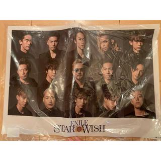 エグザイル トライブ(EXILE TRIBE)のEXILE STAR OF WISH  B3サイズクリアポスター(その他)