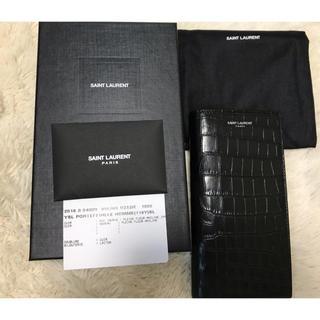 サンローラン(Saint Laurent)のSAINT LAURENT クロコ 長財布(長財布)