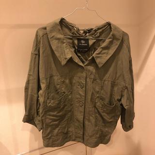 ダブルクローゼット(w closet)のダブルクローゼット  ジャケット 七分袖(ミリタリージャケット)