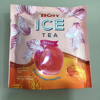 ボー(BOH)のBOH  ICE TEA ピーチ(茶)