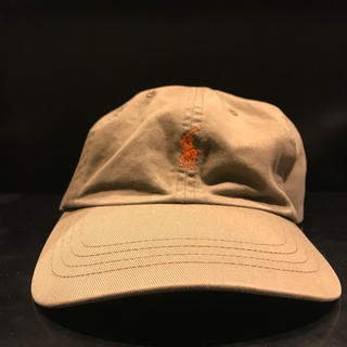ラルフローレン(Ralph Lauren)のラルフローレン キャップ カーキ 帽子 (キャップ)