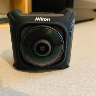 ニコン(Nikon)のニコン NIKON KeyMission360 ブラック [アクションカメラ](ビデオカメラ)