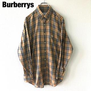 バーバリー(BURBERRY)のBurberrys バーバリー ノバチェック  ワンポイント 刺繍 シャツ(シャツ)