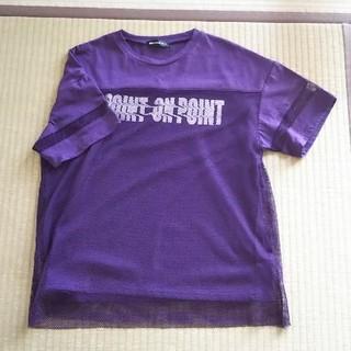 シマムラ(しまむら)のオーバーレースのTシャツ(Tシャツ(半袖/袖なし))