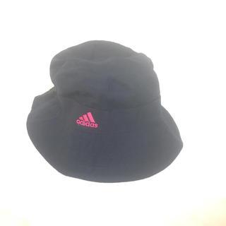 アディダス(adidas)のadidas ハット 帽子 ピンク ネイビー(ハット)