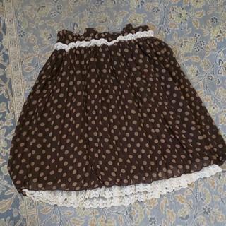 リズリサ(LIZ LISA)のLIZ LISA ドットスカート(ひざ丈スカート)