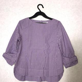 ベルメゾン(ベルメゾン)の袖口リボンカットソー(カットソー(長袖/七分))