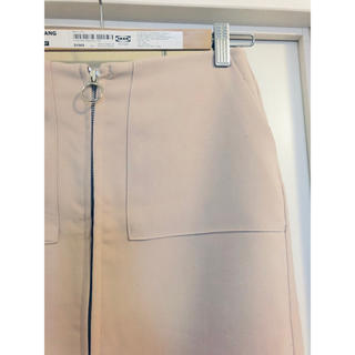 バビロン(BABYLONE)のセンタージップスカート(ひざ丈スカート)
