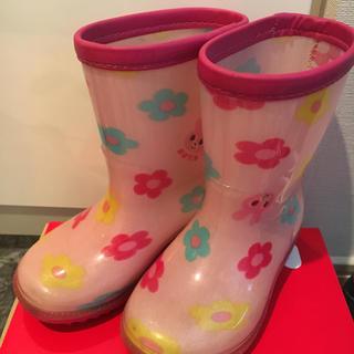 ミキハウス(mikihouse)のミキハウス レインブーツ 13㎝(長靴/レインシューズ)