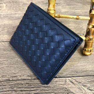 ボッテガヴェネタ(Bottega Veneta)の美品 Bottega Veneta 男性折り財布(折り財布)