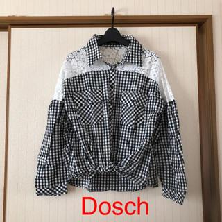 ドスチ(Dosch)の美品❤️Dosch チェックブラウス シャツ(シャツ/ブラウス(長袖/七分))