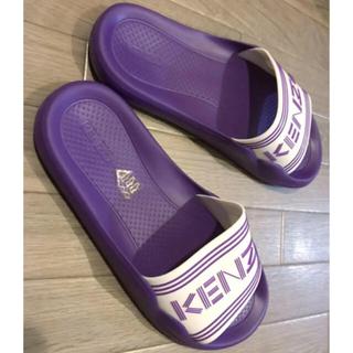 ケンゾー(KENZO)のKENZO pool sandal プールサンダル size40 おまけ付き(サンダル)