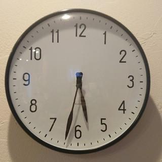 アルネヤコブセン(Arne Jacobsen)のヤコブセン ステーションクロック29cm(掛時計/柱時計)