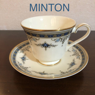 ミントン(MINTON)のミントン グラスミアシリーズ カップ&ソーサー(食器)