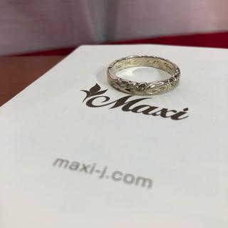 シルバー925 maxi マキシ ハワイアンジュエリー リング 正規品(リング(指輪))