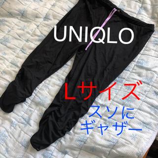 ユニクロ(UNIQLO)のUNIQLO 7分丈 ヨガパンツ 速乾性生地 Lサイズ ヨガウェア(ヨガ)