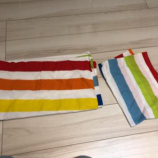 イケア(IKEA)のIKEA 子ども用掛け布団カバー 枕カバーセット(シーツ/カバー)