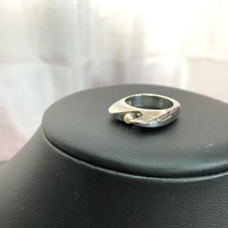 ジョージジェンセン(Georg Jensen)のシルバー925 ジョージジェンセン パール リング 正規品(リング(指輪))