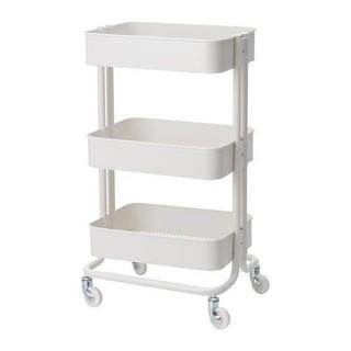 イケア(IKEA)のイケア ロースコグ  ホワイト(キッチン収納)