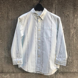 バーバリー(BURBERRY)のバーバリーロンドン ロゴストライプ柄デザインシャツ/ブラウス(ブラウス)