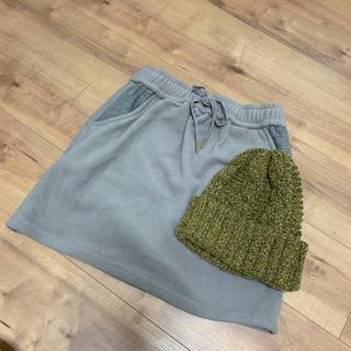 カシラ(CA4LA)のkastaneスカート&ca4laニット帽(ニット帽/ビーニー)