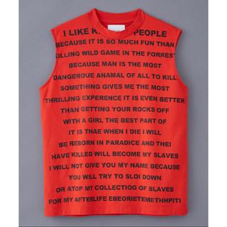 SUB-AGE. HI NECK NO SLEEVE(Tシャツ/カットソー(半袖/袖なし))