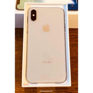 アイフォーン(iPhone)の未使用・新品 ! iPhone X 64GB Silver docomo 2台(スマートフォン本体)